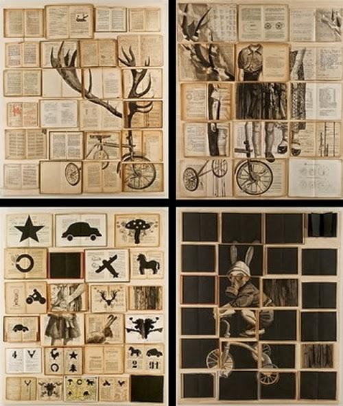 10-Russian-Artist-Ekaterina-Panikanova-Book-Page-Drawings-www-designstack-co