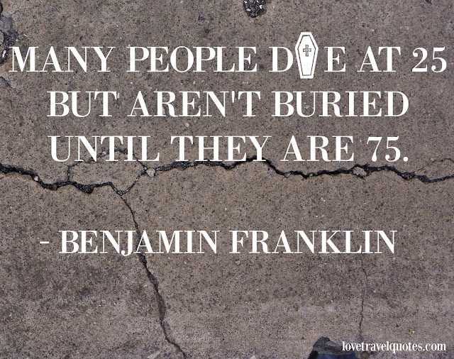 many people die at 25 but aren't buried until they are 75
