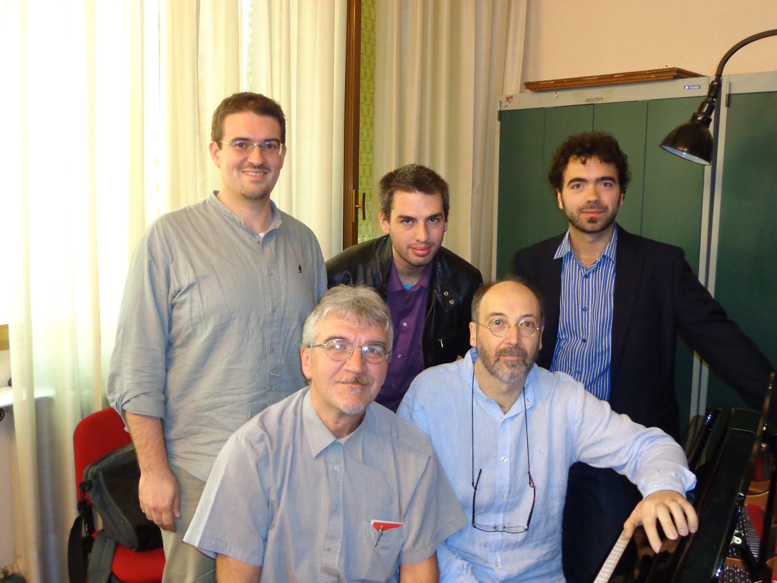 Master class en el Conservatorio C. Pollini