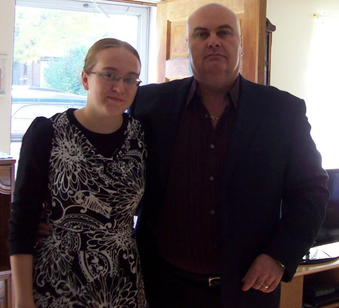 Missie and Uncle Myles (my brother)