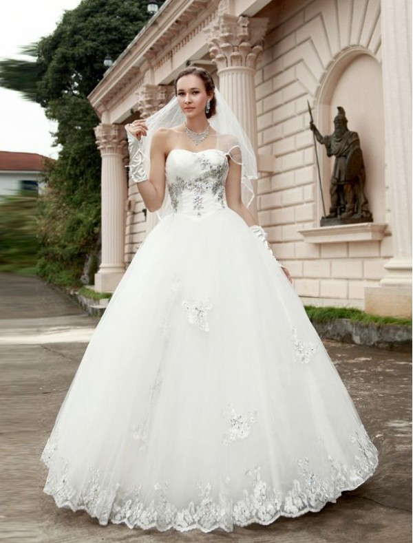 Amazing Wedding : Ball Gown Wedding Dresses - Your Fine Selection ...