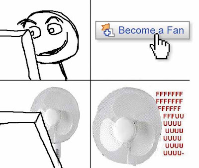 funny facebook fan rage comic