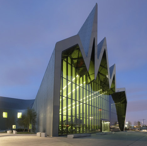 sometimes i think sometimes i am riverside museum by zaha hadid architects. Black Bedroom Furniture Sets. Home Design Ideas
