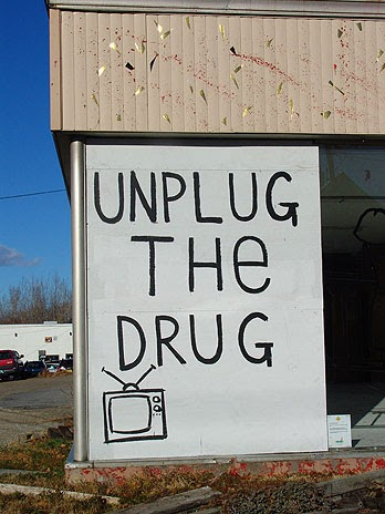 plug in drug A source from which to score drugs, principally marijuana.