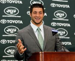 tim tebow jets image