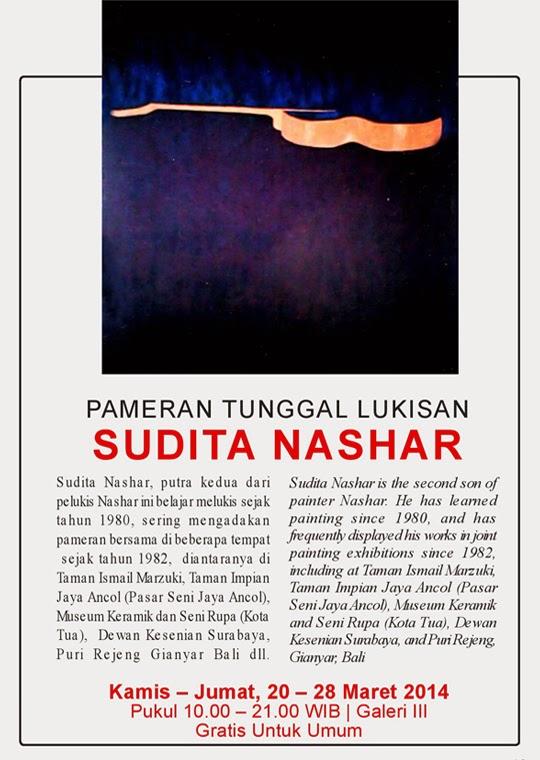 Pameran Tunggal Lukisan SUDITA NASHAR