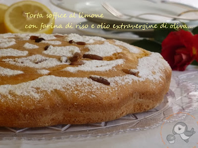 torta morbida al limone con farina di riso e olio extravergine di oliva una proposta semplice, leggera e profumata per extradolcemente