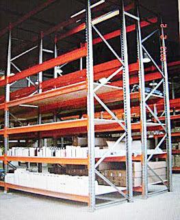 Фото складских стеллажей