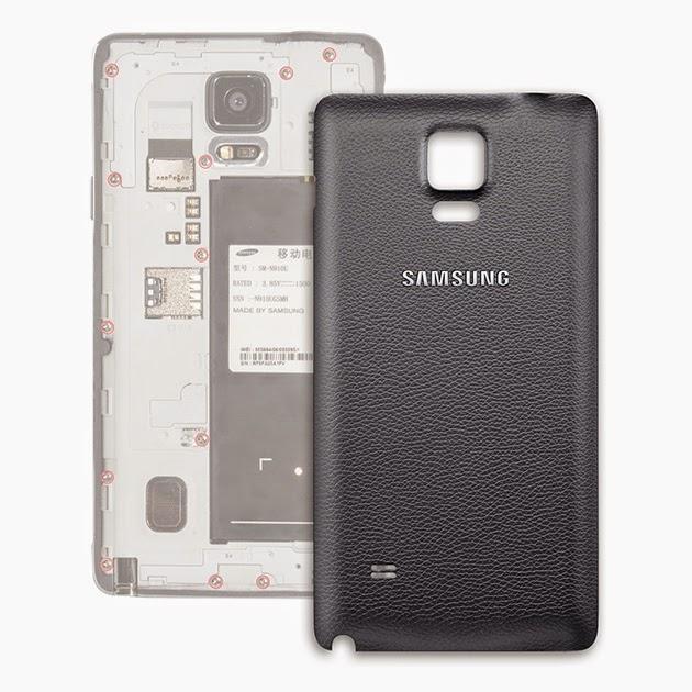 ฝาหลัง Note 4 พร้อมส่ง 129021 สีดำ