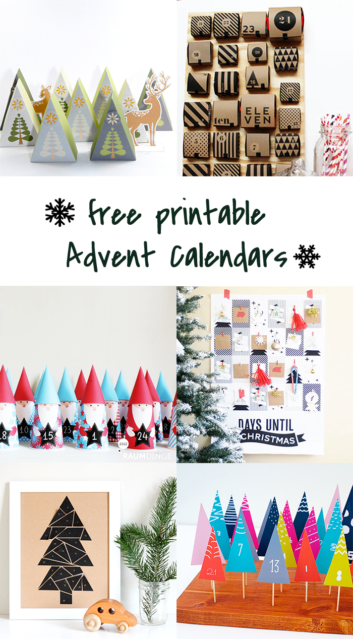 graphic regarding Advent Calendar Printable known as 5 Do-it-yourself towards try out # printable introduction calendars - Ohoh deco