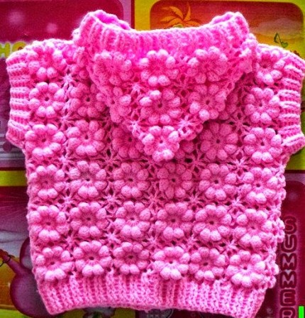 Children's Vest with Hood - Tutorial
