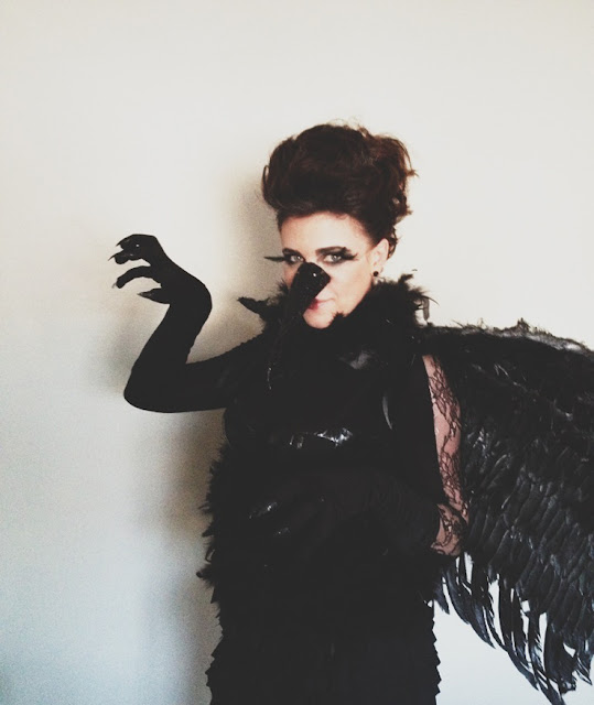 DIY Raven costume