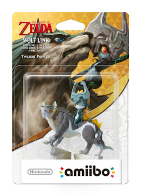TOYS : JUGUETES - NINTENDO Amiibo  Figura Link Lobo : Wolf Link   The Legend of Zelda. Twilight Princess   Marzo 2016 | Videojuegos  Comprar en Amazon España & buy Amazon USA
