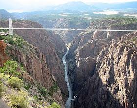 Royal Gorge Bridge, Canon City, Colorado, Beipanjiang bridge in China, Range Royal Gorge
