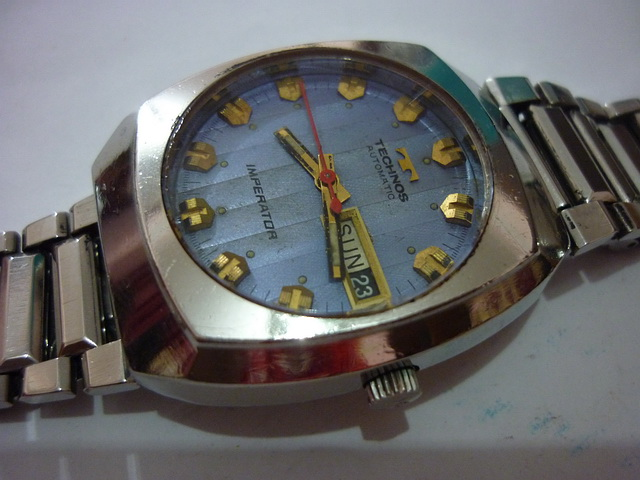 Jam otai vintage watches technos sold for Technos watches