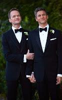 Neil Patrick Harris and David Burtka marry