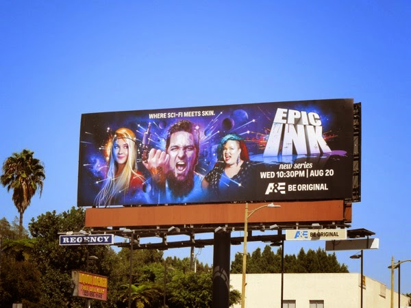 Epic Ink season 1 billboard