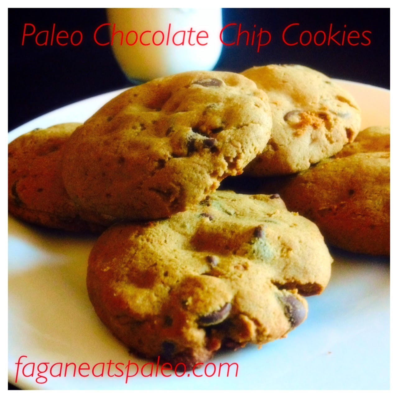 Paleo Chocolate Chip Cookies with Banana Flour