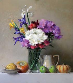 bodegones-con-flores-pinturas