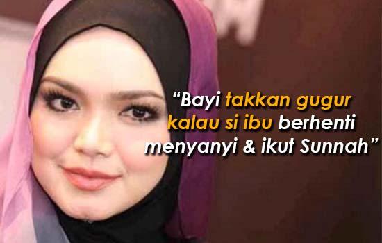 Respon netizen apabila keguguran Dato Siti Nurhaliza diperlekeh