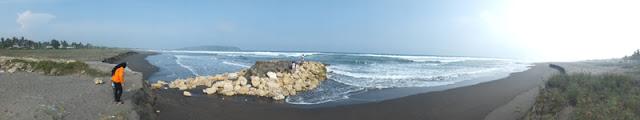 Pantai Pangandaran Panorama
