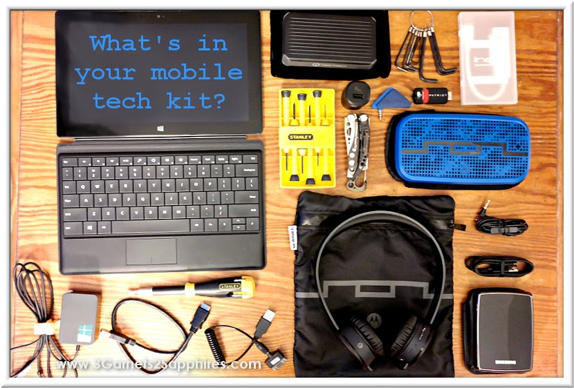 What to pack in your mobile tech kit #SOLRepublic