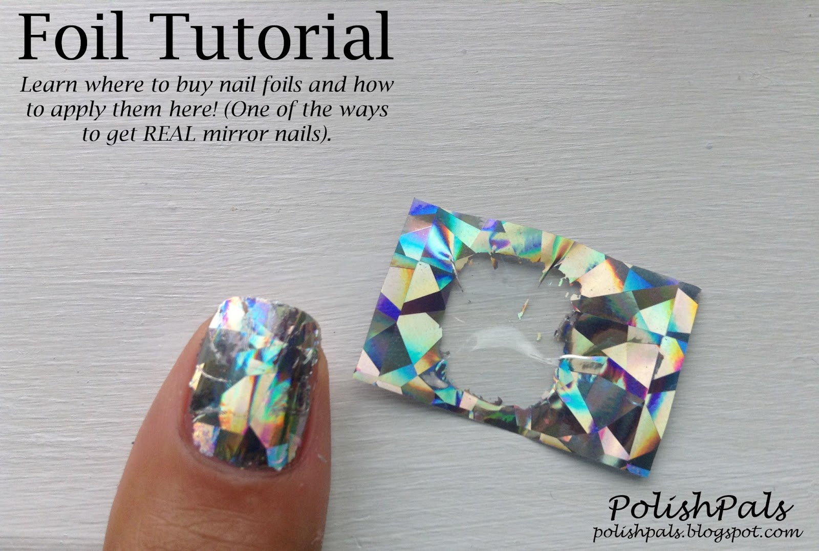 Polish Pals Nail Foil Tutorial