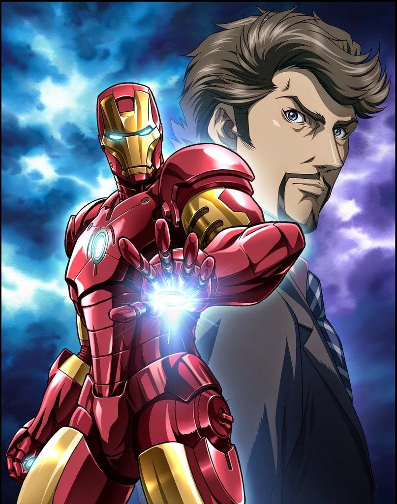 Il mondo di supergoku marvel anime i nuovi episodi - Iron man en dessin anime ...