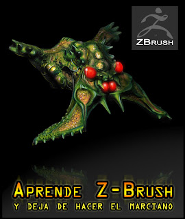 marciano zbrush insecto aprender verde