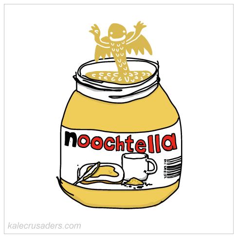 Noochtella, Nooch Nutella, Nutritional Yeast Nutella, NOochVEMBER, NOOCHvember, #NOOCHvember, Nutritional Yeast November, Nooch November