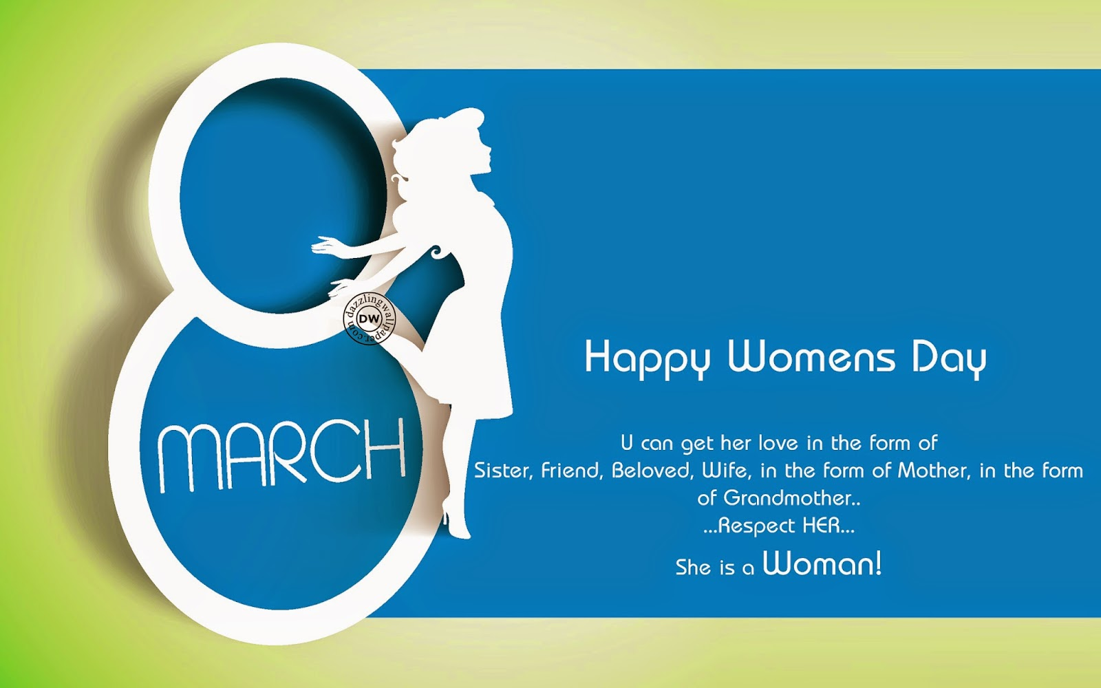 International Happy Women's Day SMS Wallpapers