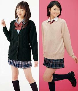 Siswa Cantik SMA Jepang I Alasan Rok Seragam Jepang Pendek