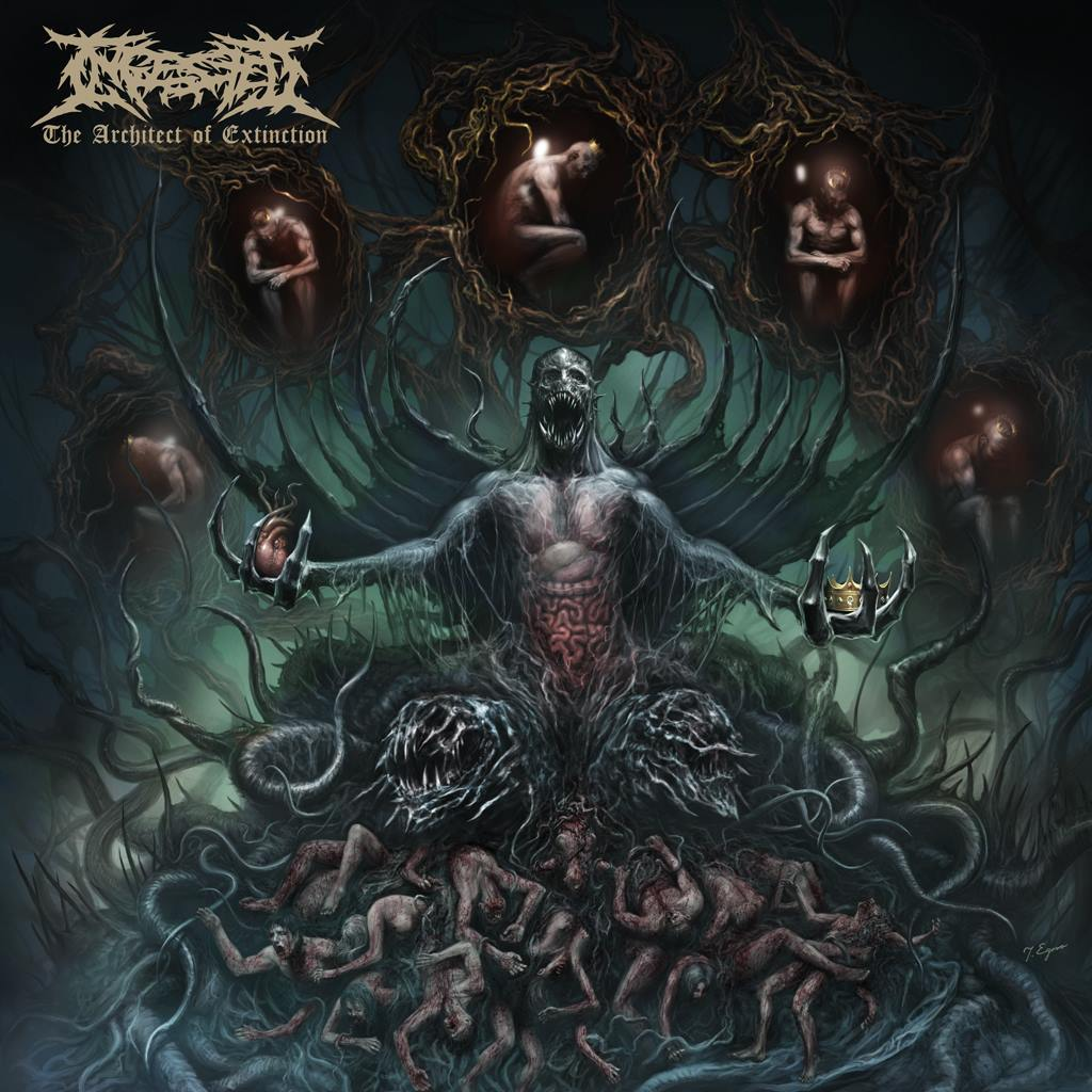 Ingested - The Architect Of Extinction (January 12th, 2015)