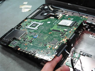 Pengertian Motherboard Pada Notebook