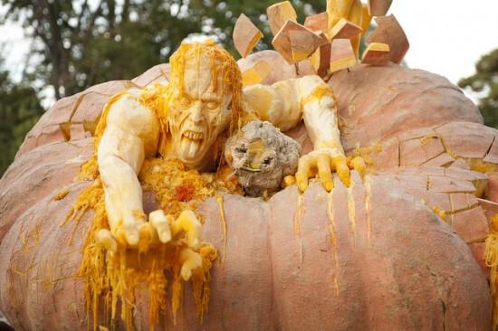 danjardin amazing pumpkin carving artist