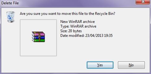 Cara Menyesuaikan Ukuran Recycle Bin (Customize the Recycle Bin Size)