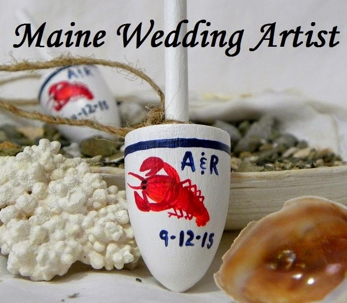 Maine Wedding Artist Etsy Shop