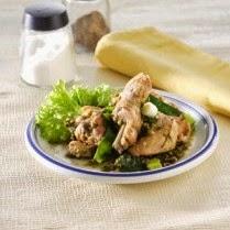 Resep Ayam Masak Daun Melinjo Pedas