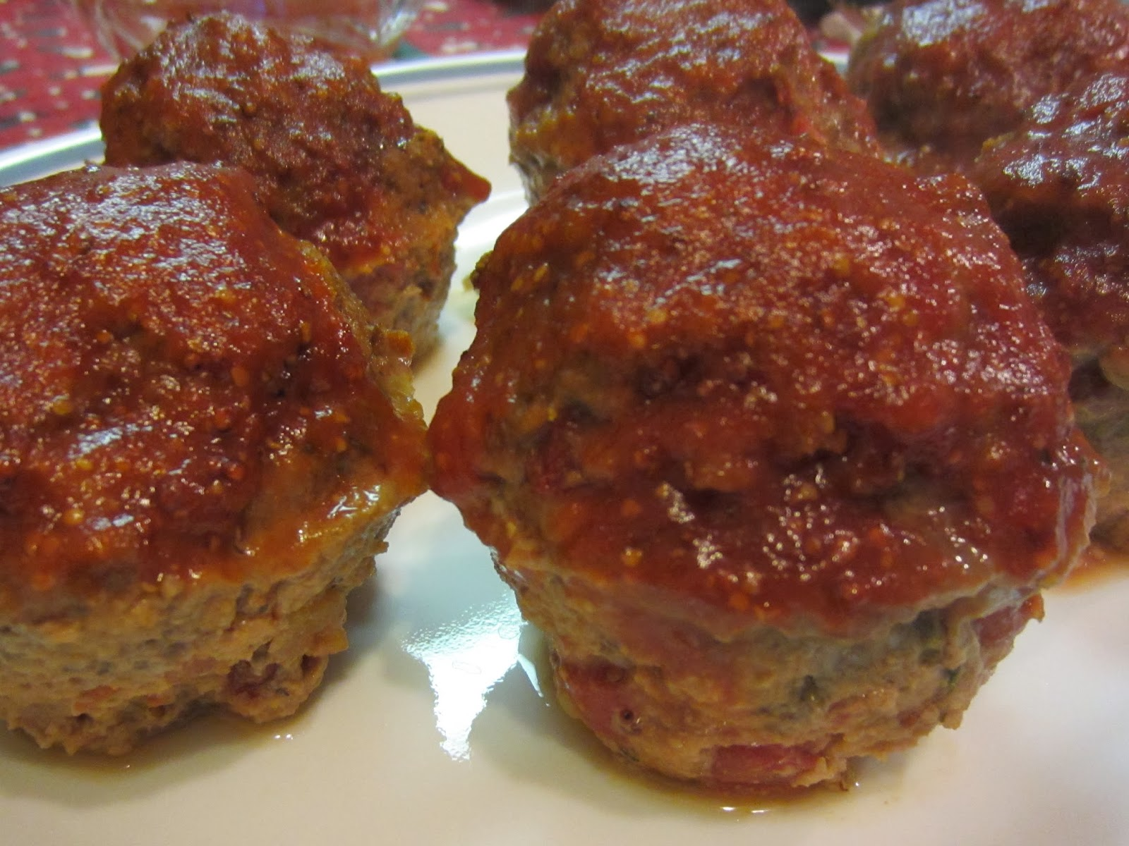 My Patchwork Quilt: QUICK MINI MEATLOAVES