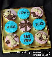 Basic Decorating cupcake class