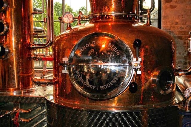 The distillery East London Liquor Company