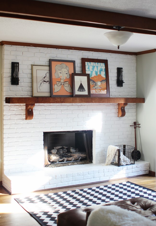 M A I E D A E Project Home Fireplace Makeover