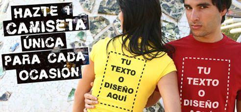 Diseña tus propias camisetas en la Tostadora. Ideales para cumpleaños 5ba37a756d1