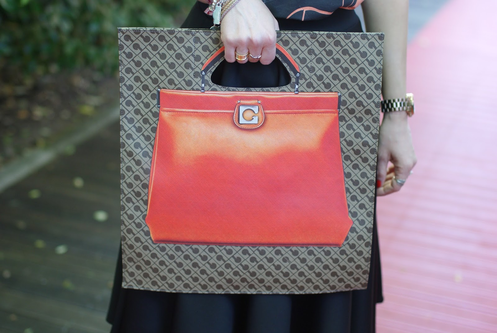 Gherardini bag, Gherardini piattina anniversary 130, Fashion and Cookies fashion blog, fashion blogger