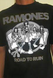 vintage RAMONES - road to ruIn 1978