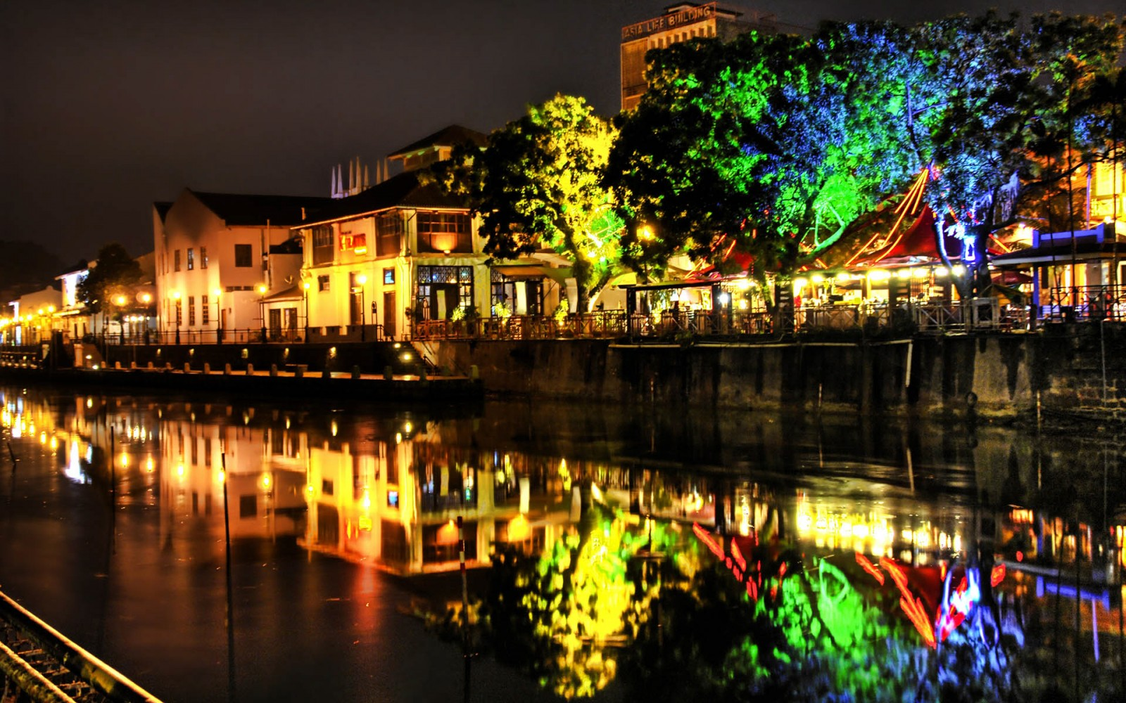 Indahnya Kota Kota Besar Di Saat Malam