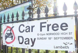 Car Free Day in Westnorwood on lambethcyclists.org.uk