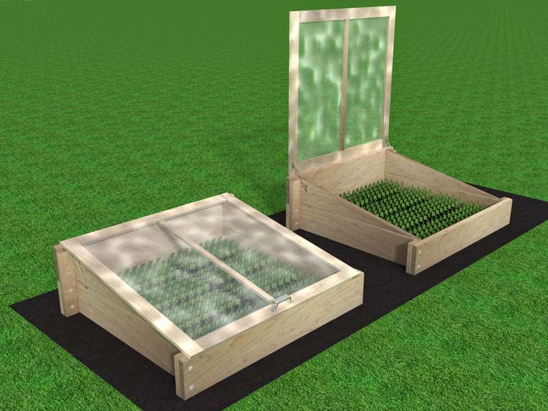 easy store cold frame plans