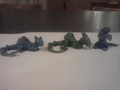 Clay Dragons