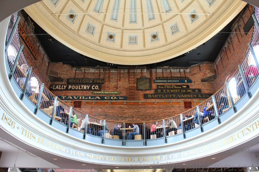 Dónde comer en Boston: Quincy Market Food Court